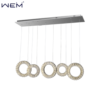 Hotel Restaurant Decoration Chandeliers Ceiling Lights Crystal Chandeliers Pendant Light Fixtures